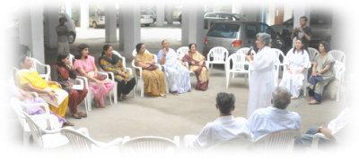 ↑当協会・インド支部のレイキイベント風景